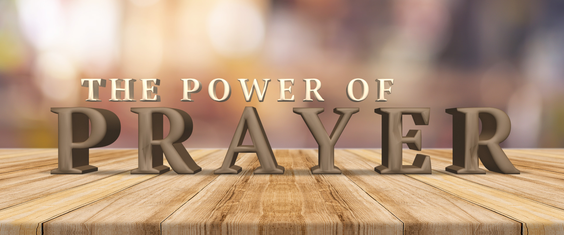 "the power of prayer Prayer is unlike speaking in tongues or prophecy because most of the time we do  not see god's power manifest itself immediately and in our ""i want it yesterday""."